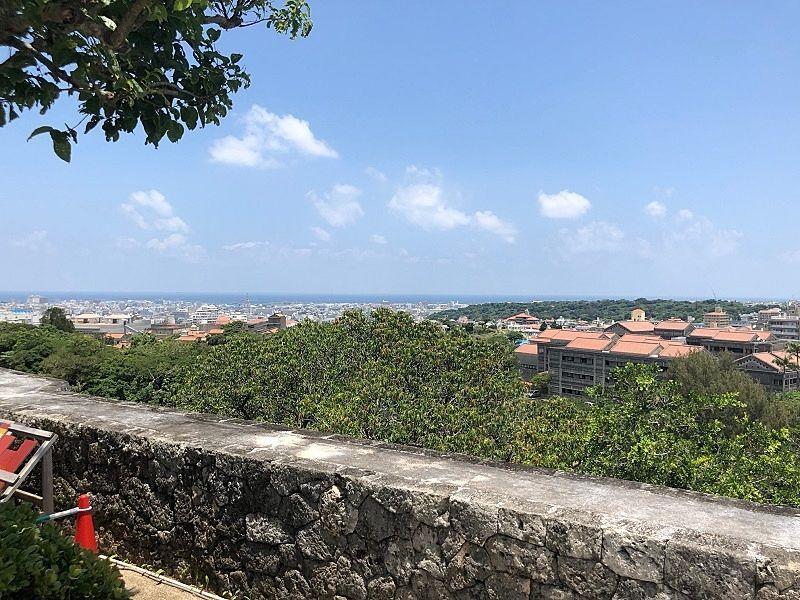 首里城から一望できる沖縄の風景