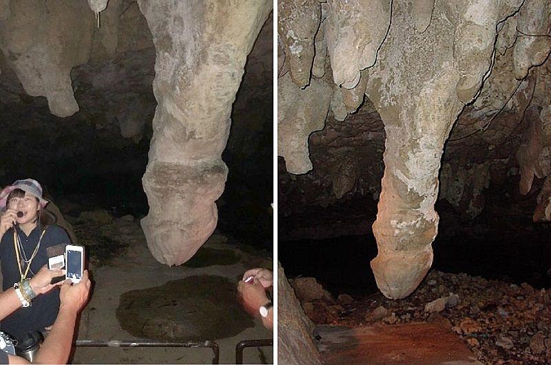 イキガ洞です。『イキガ』とは男性を意味する沖縄の方言です。