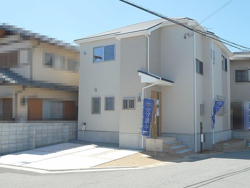 加古川市神野町石守 513番地の86に建つ新築一戸建の外観写真