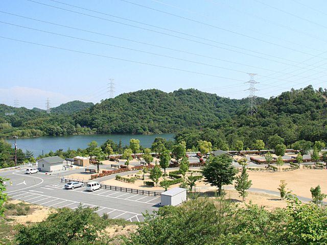 加古川市北部の権現ダムの北にある権現総合公園キャンプ場