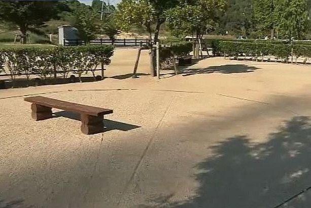 権現総合公園キャンプ場「フリーテントサイト」