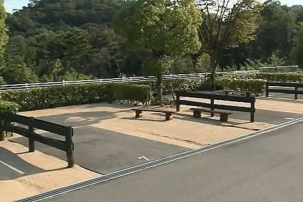 権現総合公園キャンプ場「オートテントサイト」