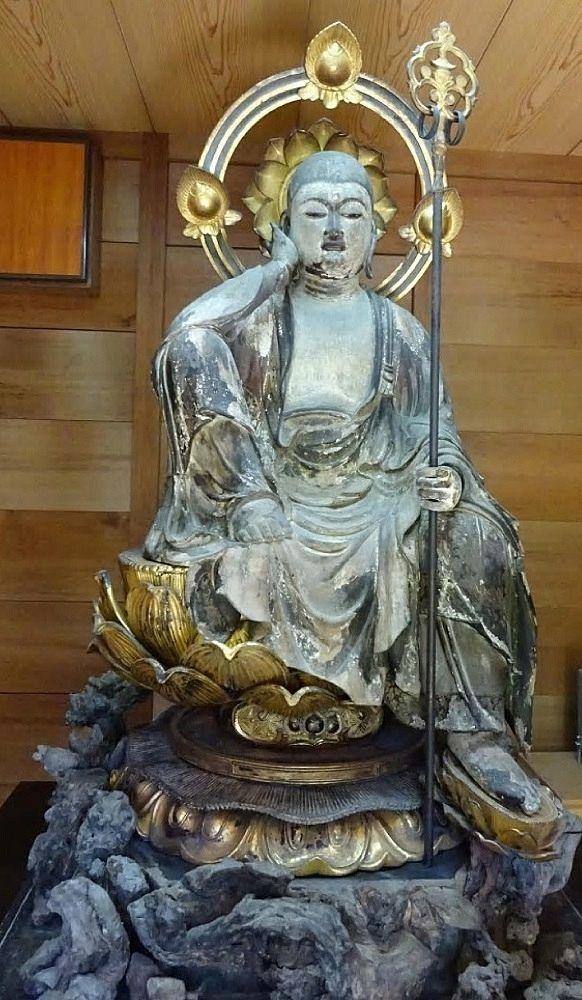長楽寺本尊の延命子安地蔵菩薩