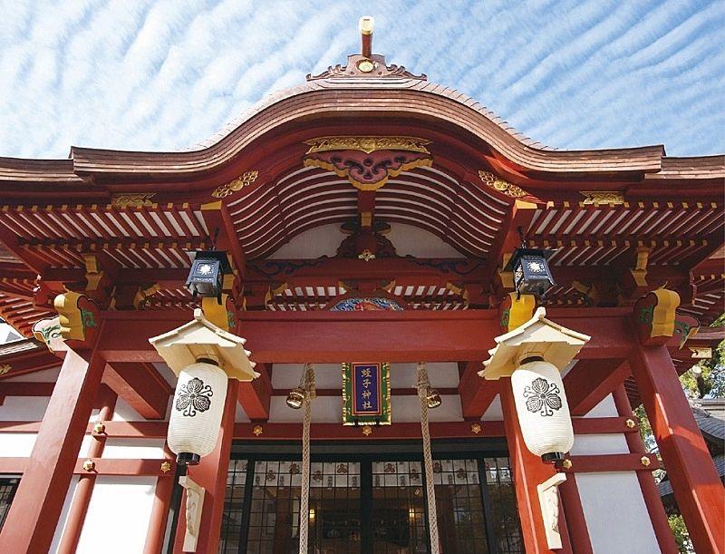柳原蛭子神社の本堂