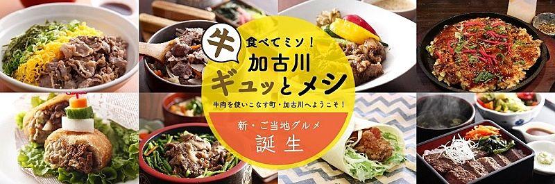 『加古川ギュッ(牛)とメシ』のポスター