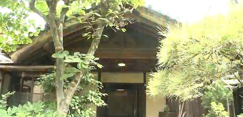 明治天皇が行幸の際、昼食をとられた樹悳堂(じゅとくどう)