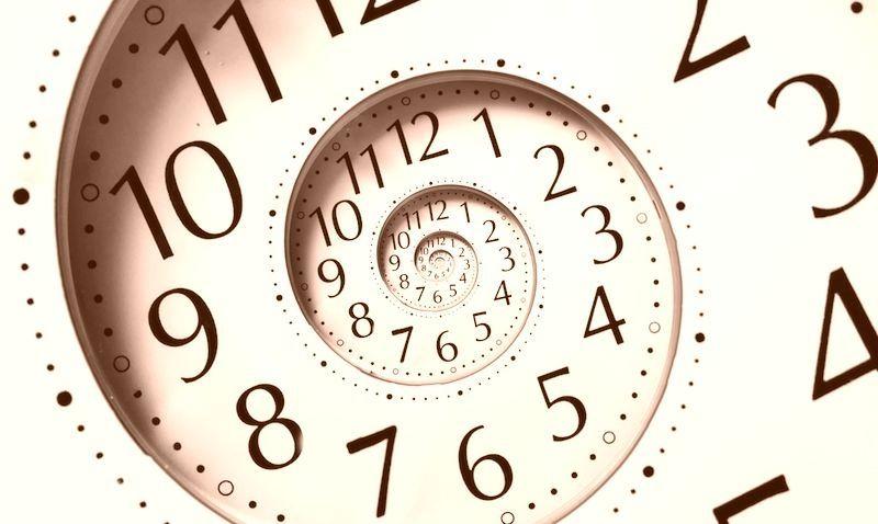 時計の文字盤でタイムリミットを表現