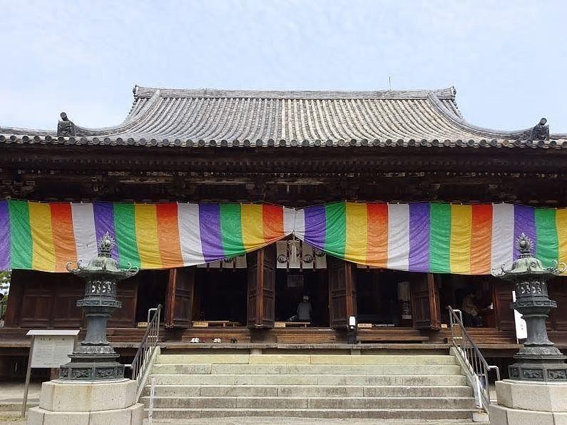 鶴林寺の太子会式です