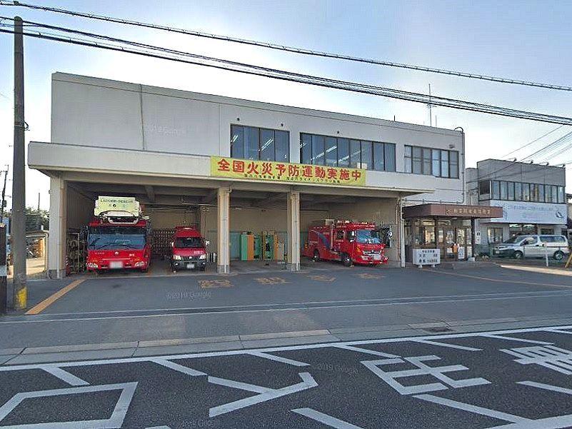 加古川市東消防署の外観です