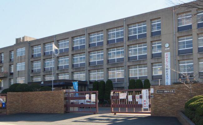 加古川市立 別府中学校です