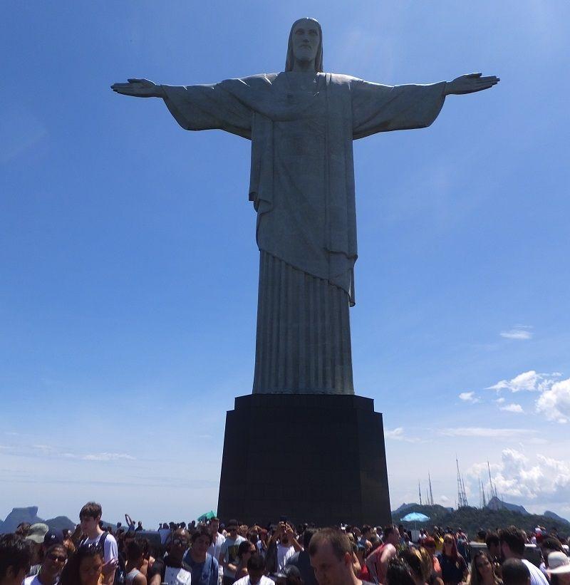 リオデジャネイロ コルコバードの丘です