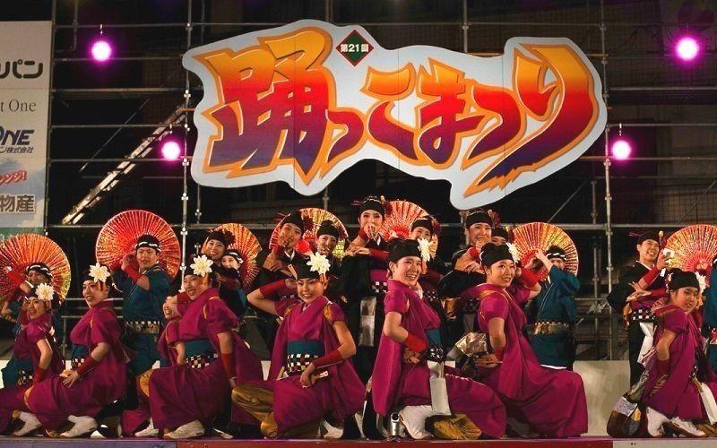 第21回踊っこまつり大賞受賞チーム「麗舞」の皆さんです