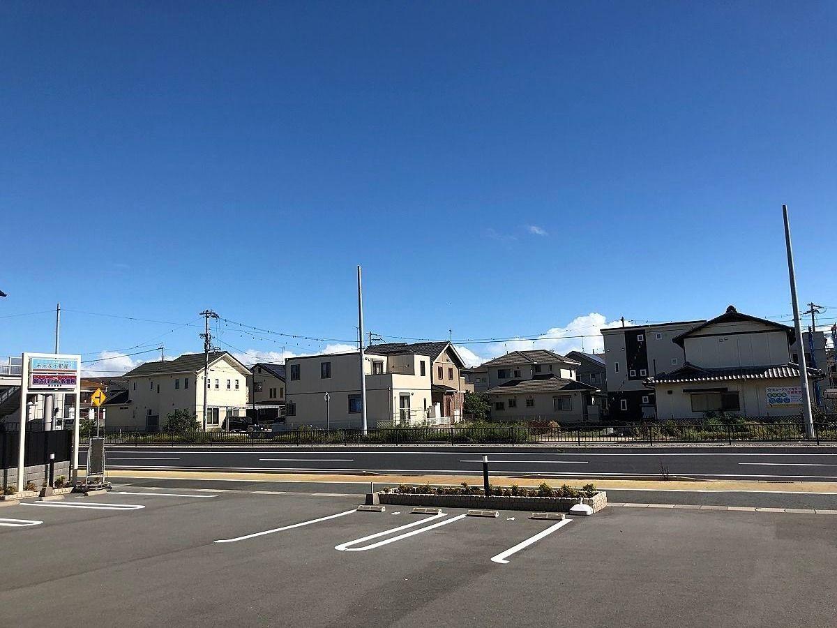 加古川市の今は、台風一過のような晴天です。