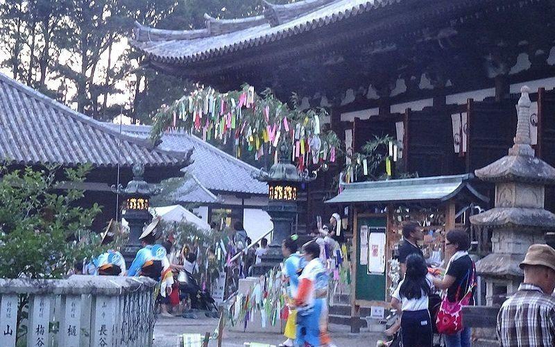 今年も7月7日(日)に、刀田山 鶴林寺で「七夕祭り」が行われます