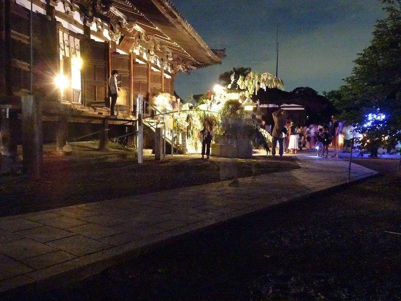 刀田山 鶴林寺で七夕祭り information