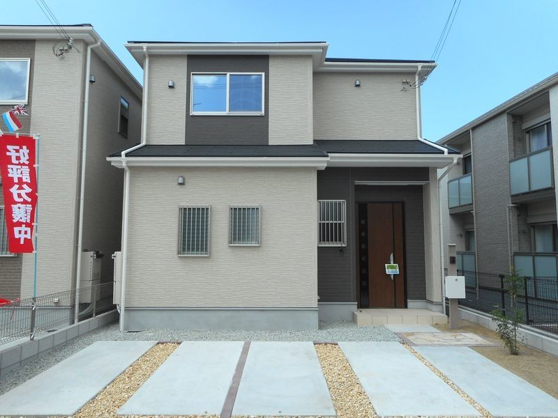 加古川市別府町新野辺新築一戸建て 第12-1号地の外観です