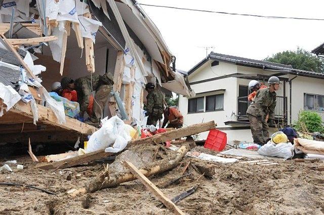 山からの土石流は、津波よりも怖いのかもしれません。