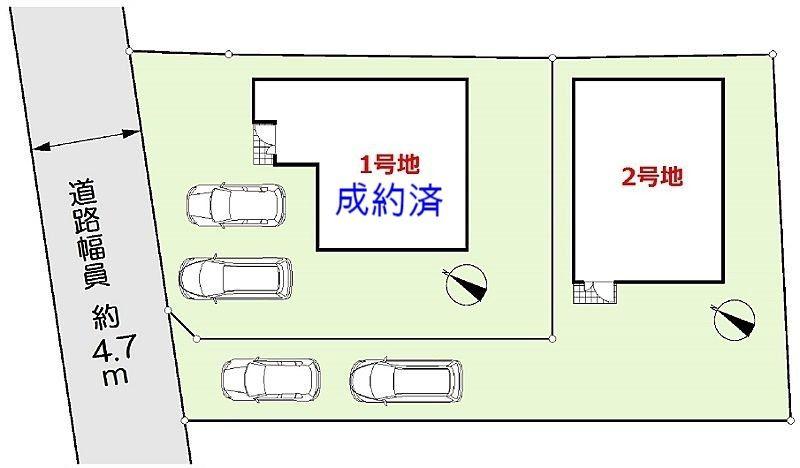 加古川市尾上町口里新築一戸建て(F)第12区画図です