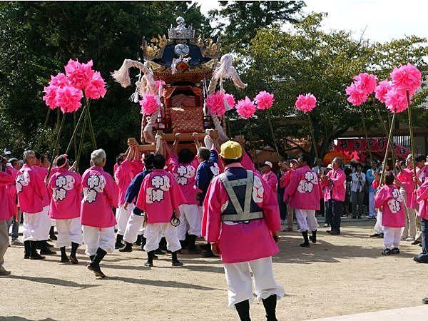 安産の神様、日岡神社の例祭「秋祭り」10月12日(土)13日(日)の2日間で開催されます!