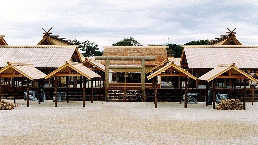 大嘗宮は儀式終了後一般公開後に解体されます