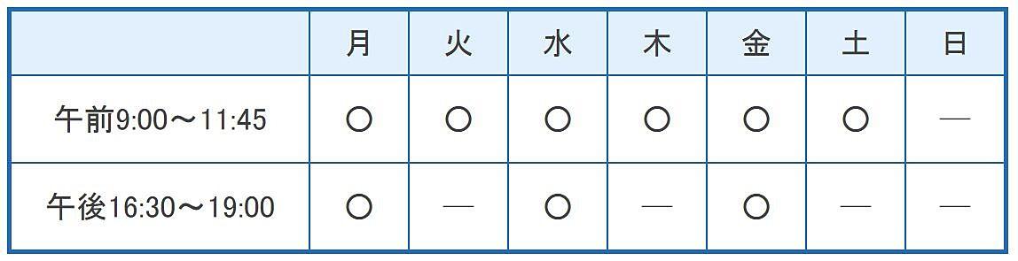 枝川内科胃腸科医院の診療時間