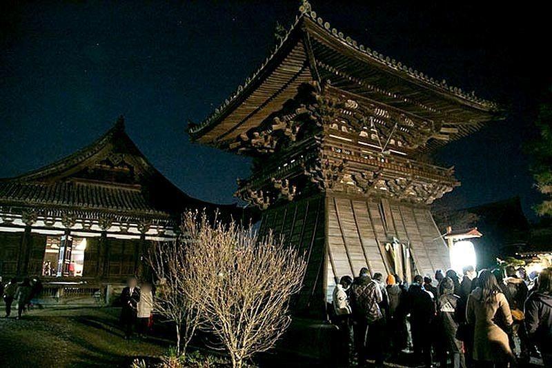 刀田山鶴林寺の除夜の鐘 令和元年大晦日の鐘撞きは午後11時30分からです!