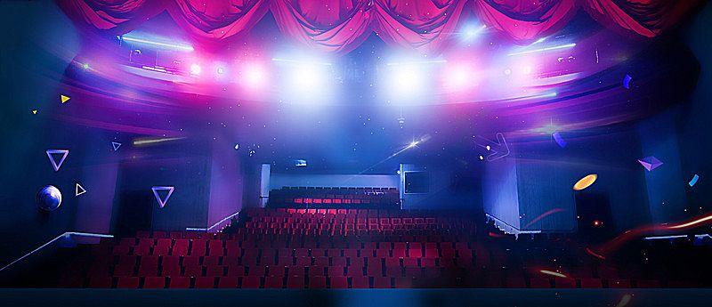 歌舞伎、オペラ、お芝居、コンサート、立派な舞台