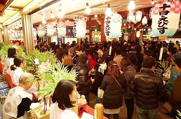神戸、柳原のえべっさん「蛭子神社」の十日えびす大祭!「本えびす」に福を授かりに参拝してまいりました!