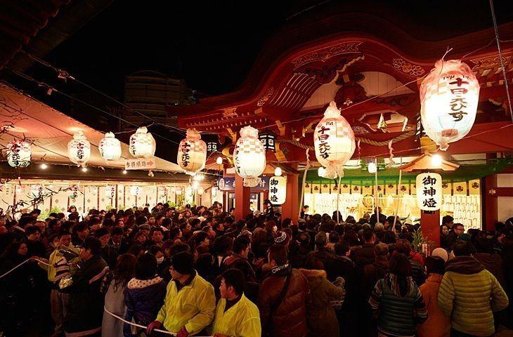 神戸で「十日えびす」といえば「柳原蛭子神社」です!