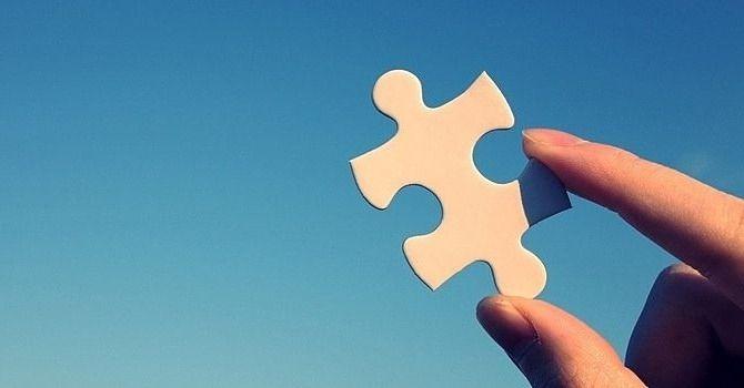 パズルのひとかけら、人にとっては大切なもの。