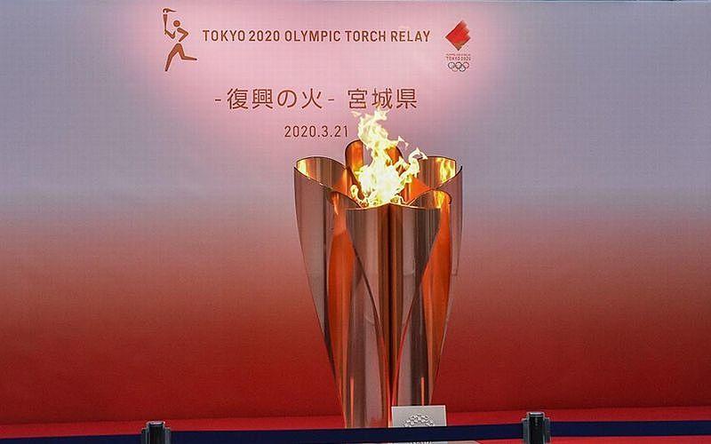 聖火は今「復興の火」として東日本大震災の被災地に