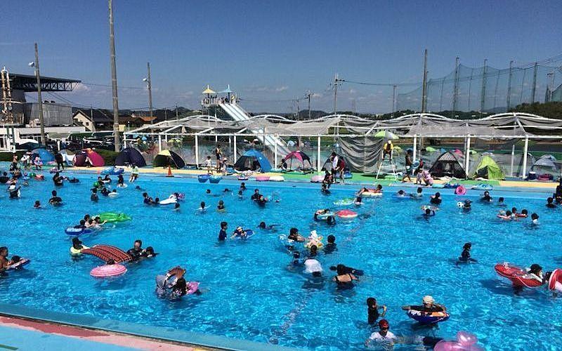 令和2年「日岡山市民プール」の営業は中止になってしまいました!