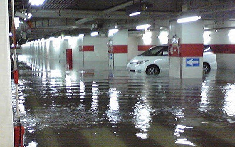 マンションの場合の「床下浸水」「床上浸水」