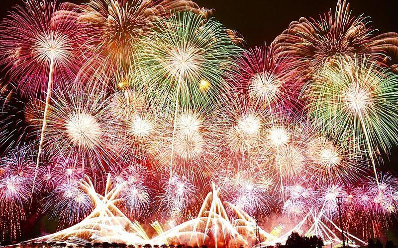 「エール花火」が今日8月22日(土)全国28都県66ヵ所で一斉に打ち上げられます!
