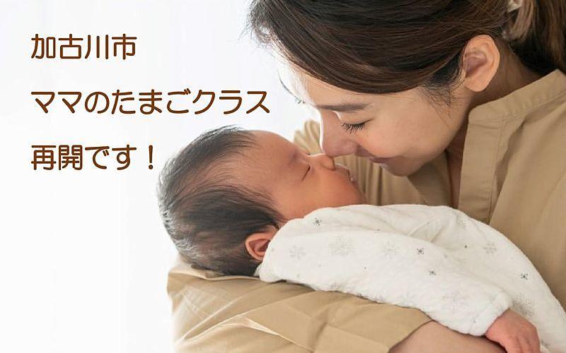 令和2年10月からの「ママのたまごクラス」が再開されます!