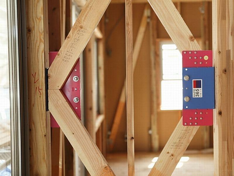 耐震 + 制震の家、QUIE(クワイエ)で耐震等級3取得
