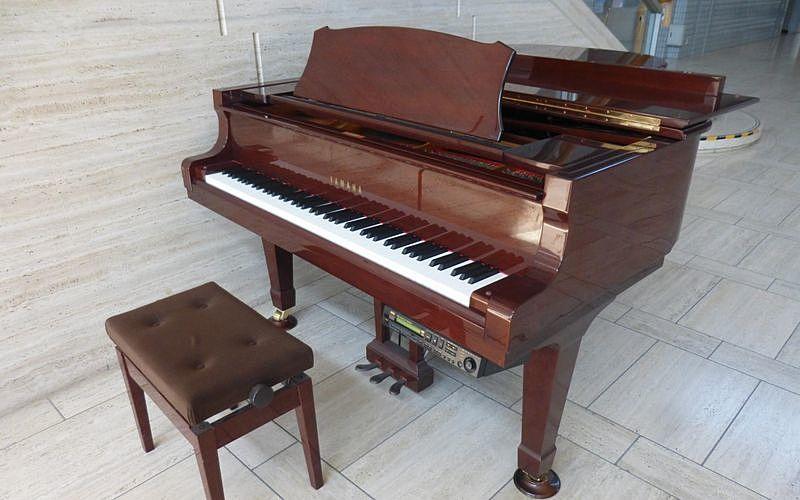 加古川総合文化センターのグランドピアノ