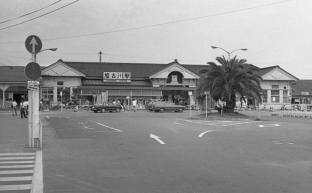明治21年(1888年)に開業した旧加古川駅です。