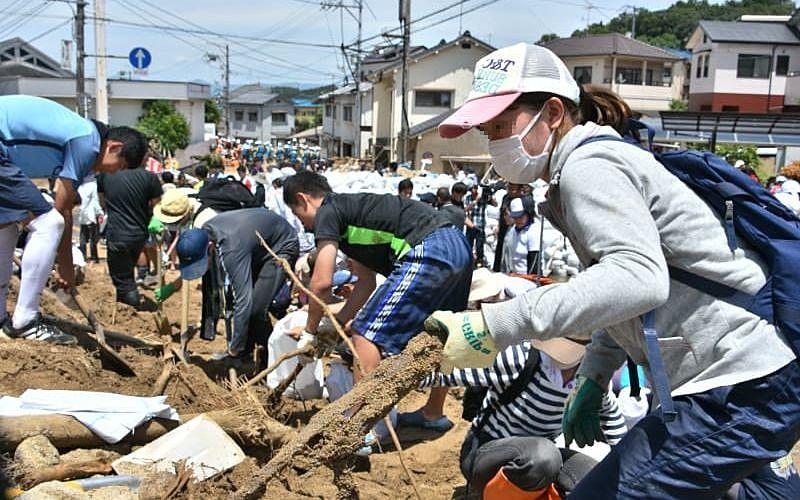 阪神淡路大震災をきっかけに災害復興ボランティア