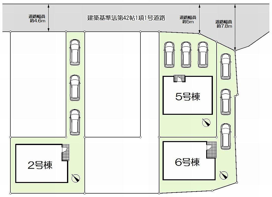 加古川市野口町良野新築一戸建て(A)第9-区画図