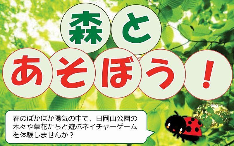加古川市自然観察会「森とあそぼう!」が日岡山公園で開催されます!