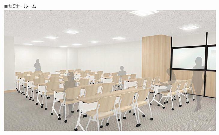 新しい加古川図書館のセミナールーム
