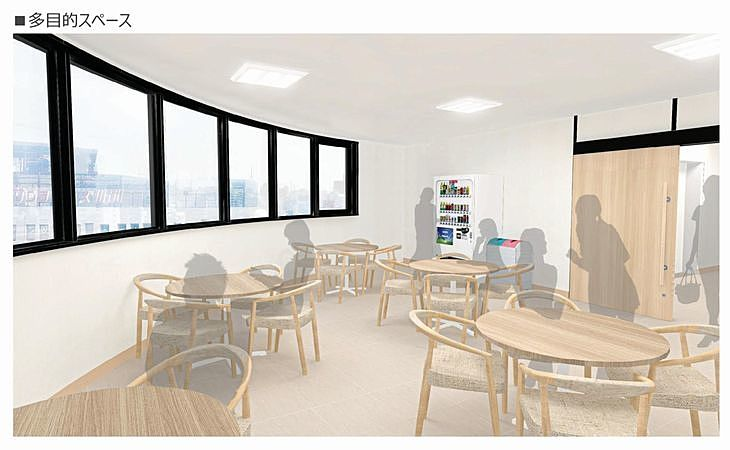 新しい加古川図書館の多目的スペース