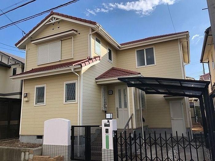 神戸市西区井吹台東町6丁目定期借地権付一戸建の外観写真です。