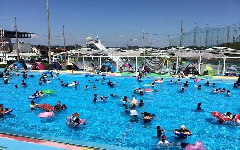 2021年の「日岡山市民プール」の感染症対策が決まりました!