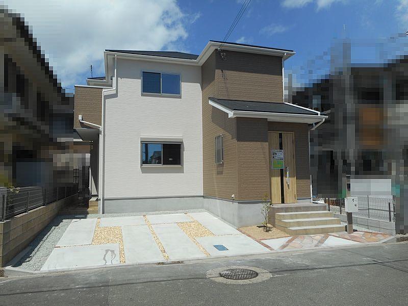 加古川市野口町口里新築一戸建の外観です。