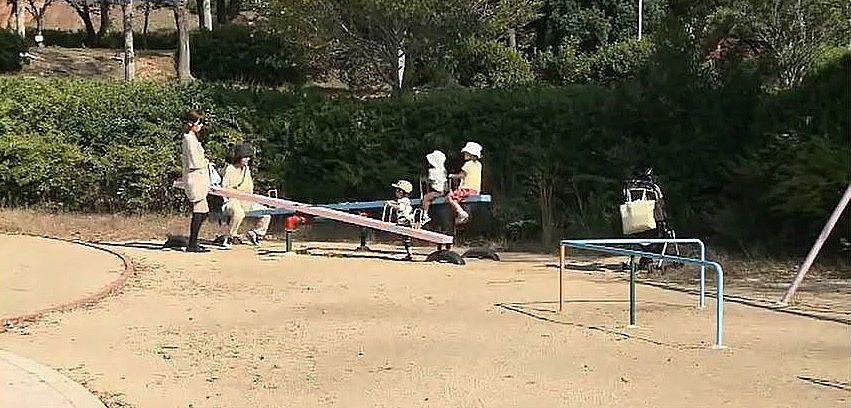 豊は自然を満喫できる日岡山公園