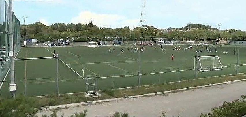 サッカーやラグビーの大会会場としても使われる多目的グラウンド