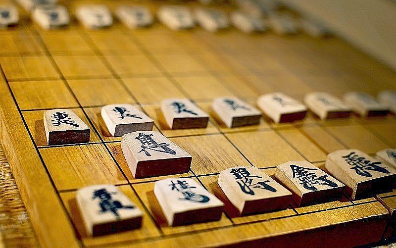 将棋の盤と駒