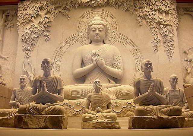 仏様が初めて教えを説いた初転法輪の地